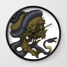 Skull & Snake, such a classic Wall Clock