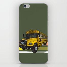 School bus iPhone Skin