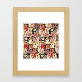 Because Shiba Inu Framed Art Print