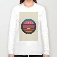 lunar Long Sleeve T-shirts featuring Lunar by Trent Kühn