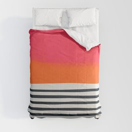 Sunset Ripples Comforters