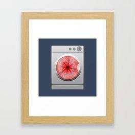 Octo-spin Framed Art Print