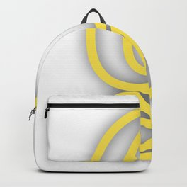 Letter G in Yellow Backpack