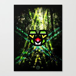 Hypno Toad Canvas Print