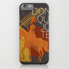 Books Collection: Don Quixote iPhone Case