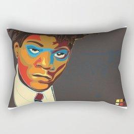 Jean-Michel Basquiat Rectangular Pillow