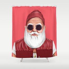 Hipstory -  Santa Claus Shower Curtain