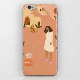 I want to go to Marrakech iPhone Skin