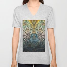 Branching Out Unisex V-Neck