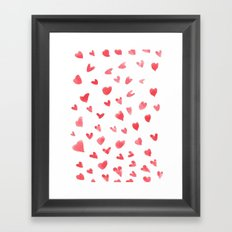 I Heart You Framed Art Print