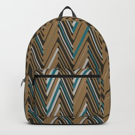 Abstract Chevron III Backpack