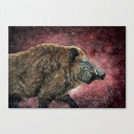 Forest Walker Canvas Print