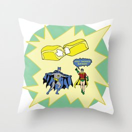 Holy Twinkie! Throw Pillow