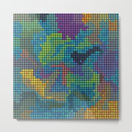 Cera Color Art Metal Print