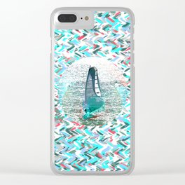Surfin Clear iPhone Case