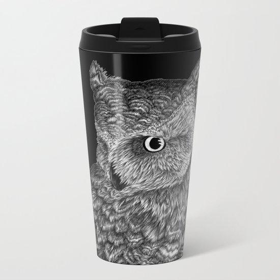 A Friend for Forsythe in Black Metal Travel Mug