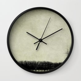 Moody Days Wall Clock