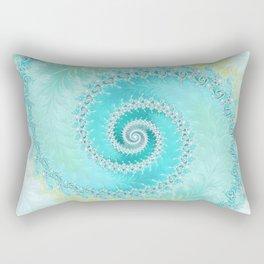 Teal Dreams Collection (1) - Fractal Art  Rectangular Pillow