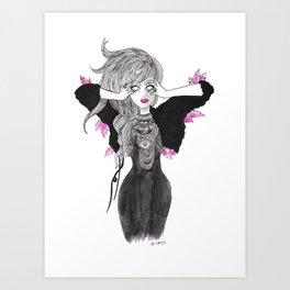 Thirsty Heart Art Print