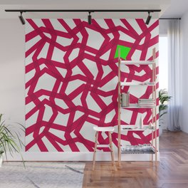 The Red  Net Wall Mural
