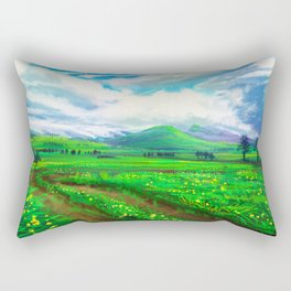 Atherton Tablelands Rectangular Pillow