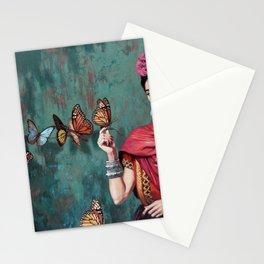 Frida Kahlo Butterfly Stationery Cards