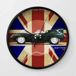 Goodwood Vintage Jaguar D-Type Wall Clock