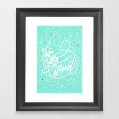Color My World Framed Art Print