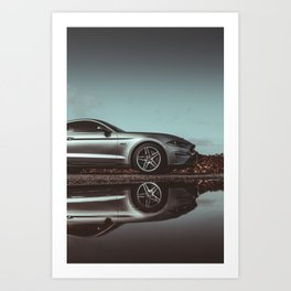 Mustang - Muscle Car Art Print