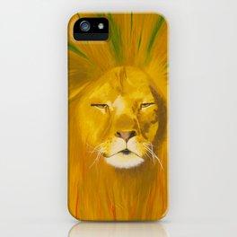 Rasta Lion iPhone Case