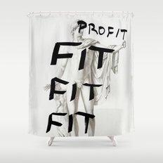 Strike 41 Shower Curtain
