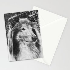 Rough Collie Dog Stationery Cards