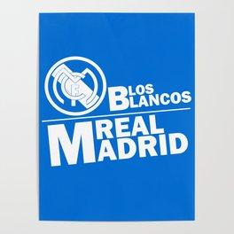 Slogan: R. Madrid Poster