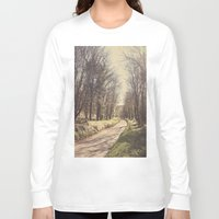 road Long Sleeve T-shirts featuring Road ∆ by Visceral Angst