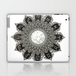 Astrology Signs Mandala Laptop & iPad Skin