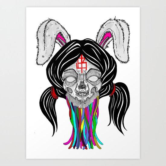 a bitter bitch. Art Print
