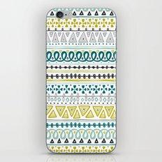 Boho Market Stripe iPhone Skin