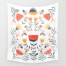 Bee Well Wall Tapestry