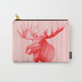 Moose red Carry-All Pouch