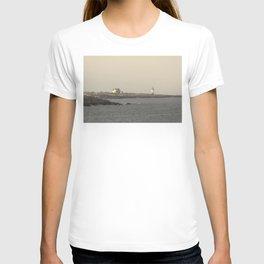 Hazy Straitsmouth lighthouse T-shirt
