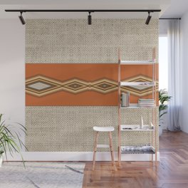 Southwestern Earth Tone Texture Design Wall Mural
