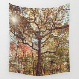 Autumn Tree Wall Tapestry