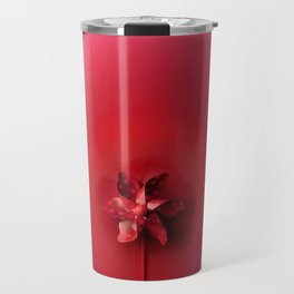 Red explosion Travel Mug