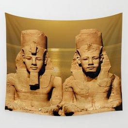 Ramesses and Nefertari Wall Tapestry