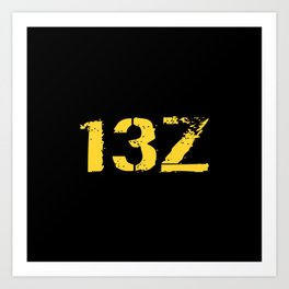 13Z Field Artillery Art Print