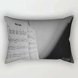 Hey Jude Rectangular Pillow