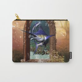 Awesome marlin Carry-All Pouch