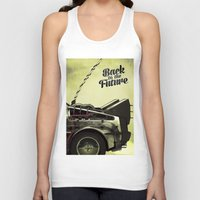 back to the future Tank Tops featuring Back to the future by Duke.Doks