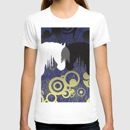 Yin & Yang Horses Eclipse T-shirt