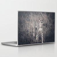 cheetah Laptop & iPad Skins featuring Cheetah by Chad Madden